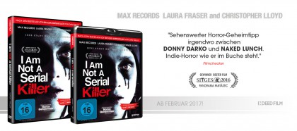Finale Cover - I Am Not A Serial Killer!